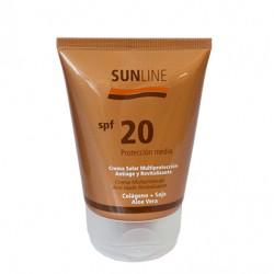 Solar Facial Antiedad Multiprotección FP20. 100ml